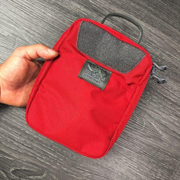 Red Vanquest EDCM Husky preppers survival organiser pouch