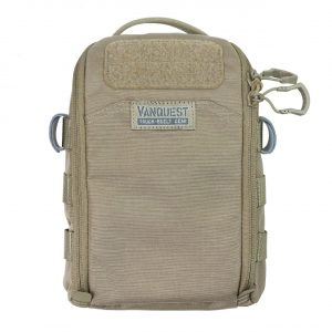Fast Totally Intergrated Maximiser FTIM organiser pouch for preppers. Coyote Tan pack 6x9""